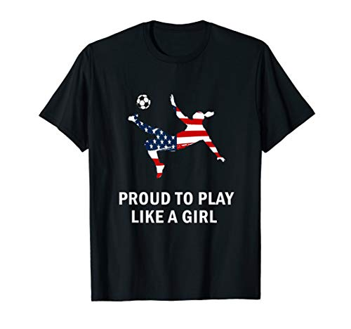 US. Women Soccer team player Fan T-Shirt proud to ()