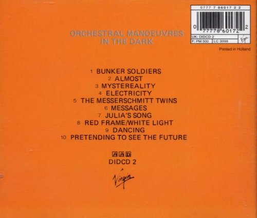 Orchestral Manoeuvres in the Dark by Virgin Records