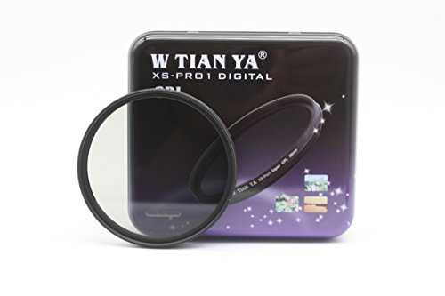 [TIANYA 49mm Optical Super DMC CPL Circular Polarizer Filter - Multi-Coated + CEARI MicroFiber Clean Cloth] (Resolution Multi Coated 30mm Filter)