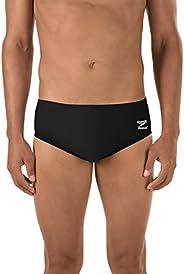 Speedo Men's Race Endurance+ Polyester Solid Brief Swim