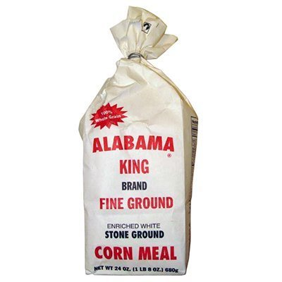 Pack of 3 Fine Ground Enriched White Stone Ground Corn Meal