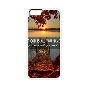 """DDOUGS If God is all you have you have all you need Personalized Cell Phone Case for Iphone6 Plus 5.5"""", Best If God is all you have you have all you need Case"""