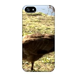 Anti-scratch And Shatterproof One Leg Phone Case For Iphone 5/5s/ High Quality Tpu Case