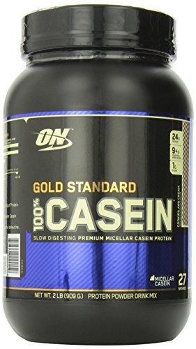 Optimum Nutrition 100% de caséine protéine, Biscuits et crème, 2 Pound pack