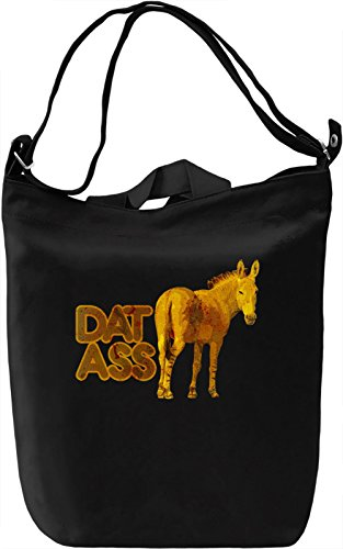 Dat Ass Borsa Giornaliera Canvas Canvas Day Bag| 100% Premium Cotton Canvas| DTG Printing|