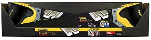 Stanley FatMax Gen2 Appliflon Gipskartonsä ge (550 mm Lä nge, 7 Zä hne/Inch, Tri-Material-Handgriff) 2-20-534 BLAMT
