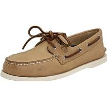 Sperry Top-Sider Men's A/O 2-Eye Boat Shoe, Oatmeal, 11.5 W US
