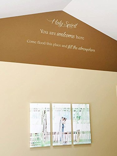 Susie85Electra Holy Spirit You Are Welcome Here Come Flood This Place And Fill The Atmosphere Vinyl Wall Decal