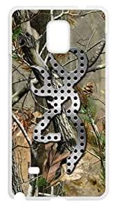 Friday Storefront Hot Browning Tree Camo Case Cover for SamSung Galaxy Note4 (Laser Technology) -- High Quality