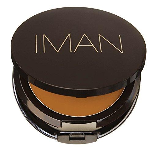 IMAN Second To None Cream To Powder Foundation, Medium Skin, Clay (Iman Cream Powder Foundation)