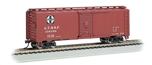 - Bachmann Industries 40' Steam Santa Fe Era Box Car (HO Scale)