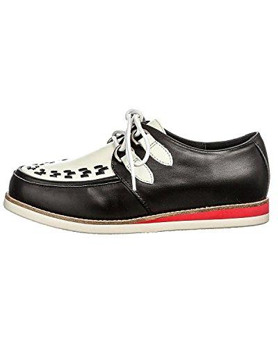 Chaussures Blanc Ramona 18 Noir 'Cecilia' 412805 Lola et 4gHwqzwx