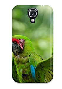 New Arrival Cover Case With Nice Design For Galaxy S4- Tropical Rainforest Animals