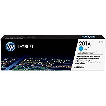 HP 201A (CF401A) Toner Cartridge, Cyan for HP Color LaserJet Pro M252dw, M277, M277c6, M277dw