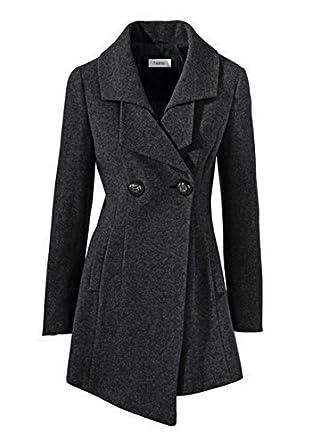 heine mantel damen schwarz