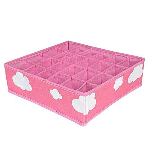 Storage Boxes & Bins - 3 In 1 Underwear Storage Box Shorts Bra Organizer Divider Drawer Lidded Closet - Boxes Bins Organizers Storage Storage Boxes Bins Drawer Storag Rattan Wardrob Basket Wi