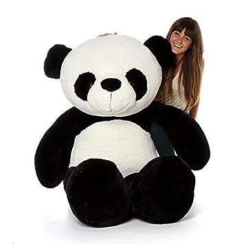 Sana Stuffed Spongy Panda Teddy Bear Soft Toy (Size_40 cm)