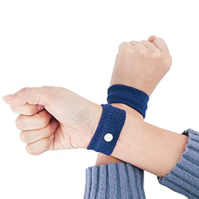 2Pcs Anti-Spit Wristbands Sport Travel Antiemetic Hand Band Cotton Wrist Support Brace Wraps Guards For Gym Aircraft Boat Car Estimated Price £8.39 -