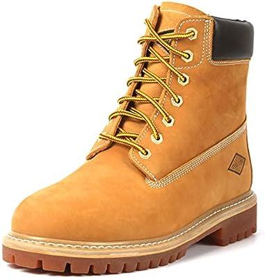Soft Toe Work Boots - Stylish Leather