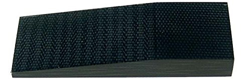 Knife Micarta Canvas Black Handle (#MI865 Black Canvas Slab Micarta, Knife Handle 3/16 inch x 5 inch x 10 inch, 1pc)