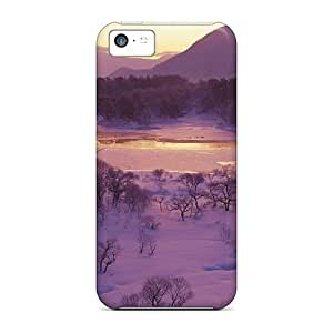 Anti-scratch And Shatterproof Winter Landscape Phone Cases For Iphone 4/4s/ High Quality Cases