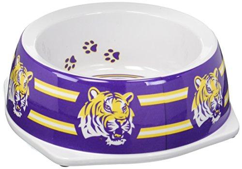 Sporty K9 Collegiate LSU Tigers Pet Bowl, Small