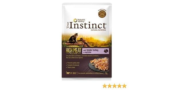 True instinct - Comida húmeda para Gatos Adultos High Meat fillets ...