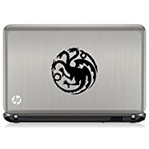 "Game of Thrones House Targaryen logo Redkalesi Sigil Vinyl Sticker Decal HBO Logo Car Truck Mac (5.5"" Inches, Black)"