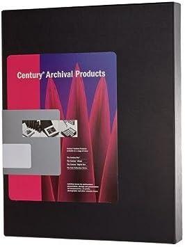 Lineco Archival 16 x 20 Print Storage Box Exterior Color: Black 16 1//2 x 20 1//2 x 3 Drop Front Design