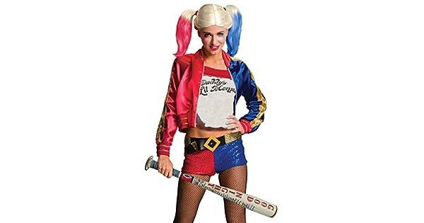 Amazon.com: Harley Quinn inflable Bat Suicide Squad 32943 ...