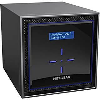 NETGEAR ReadyNAS RN424E6 4 Bay 24TB Enterprise High Performance NAS, 40TB Capacity Network Attached Storage, Intel 1.5GHz Dual Core Processor, 2GB RAM (B0716MNYBK) | Amazon price tracker / tracking, Amazon price history charts, Amazon price watches, Amazon price drop alerts