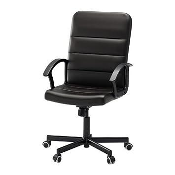 Schreibtischstuhl weiß ikea  IKEA TORKEL Drehstuhl in schwarz: Amazon.de: Küche & Haushalt