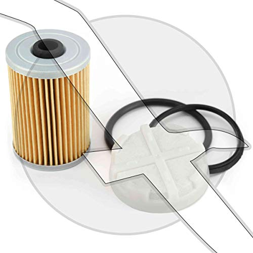 Screen Filter Kit - Fuel Filter Element & Screen Kit for Mercruiser Cool Fuel 35-892665 35-8M0093688