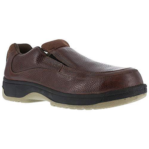 FS245 Florsheim Women's Eurocasual Safety Shoes - Dark Brown - 7.0 - M