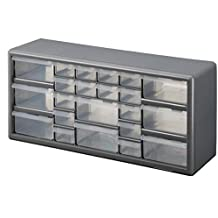 Stack-On DS-22 22 Drawer Storage Cabinet (Gray)