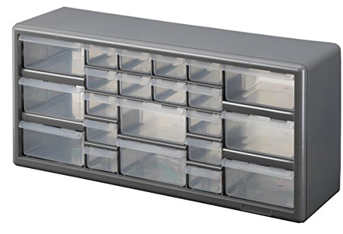 Stack-On DS-22 22 Drawer Storage Cabinet (Bin Cabinet Wall)