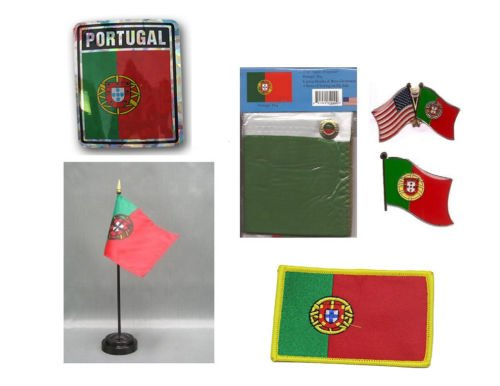 Moon Portugal Heritage Flag Set  - Bright Color UV Resistant