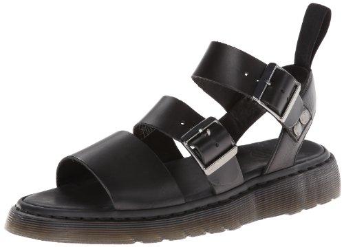 Dr. Martens Men's Gryphon Gladiator Sandal, Black, 10 UK/11 M US