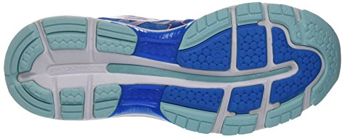 Coral Blue Mujer Asics Nimbus Zapatillas Aqua Azul Flash para 19 de Diva Running Gel Splash wp70waqC