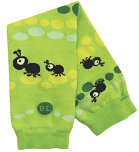 BabyLegs Awesome Antics Leg Warmers, Green/Yellow, One Size(Lightweight Mesh) BL13-0037