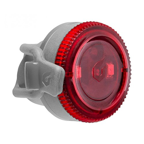 [해외] Blackburn(블랙 BAAN) Blackburn(블랙 BAAN) 자전거 리어 라이트 싸이클 LED 전지 방수 방진 IP-65 실리콘 밴드 4루멘 CLICK [클릭 리어 그레이] 7085176