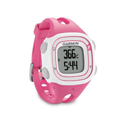 Garmin Forerunner 10 GPS Watch - Pink/White (Certified Refurbished)