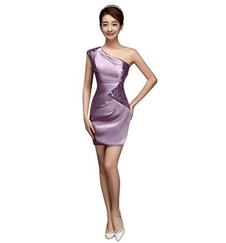 Drasawee Violett Kleid Schlauch Damen Damen Drasawee Schlauch PxwRxqFa