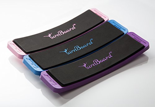 Ballet Is Fun TurnBoard - 3 Pack (Purple, Blue, Pink) by Ballet Is Fun TurnBoard