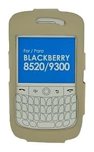 4-Ok FWB93B - Funda para Blackberry 9300 / 8520, color beige