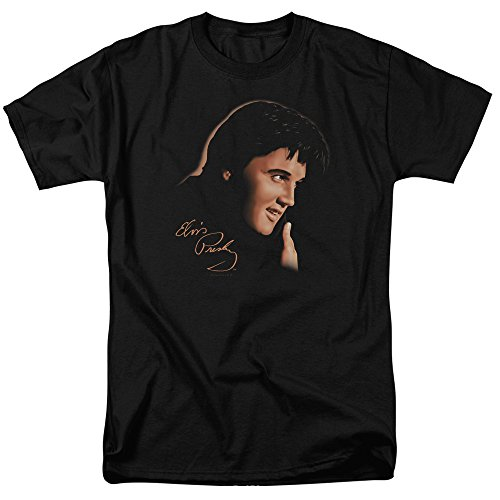Elvis Presley - America's Sweetheart - Adult T-Shirt - 2XL Black