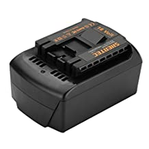 Shentec 18V 5000mAh Crodless Power Tool Battery Replacement for Bosch BAT609 BAT618
