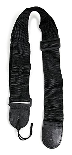Black Universal Guitar Controller Strap For Guitar Hero & Rock Band Guitars On PS3, PS2, Xbox 360 & Wii (Compatible With Guitar Hero: Warriors of Rock, 6, 5, 4, 3, 2 & 1) (Rock Band Guitar Strap)