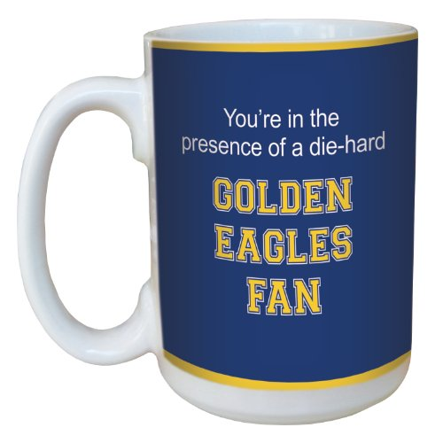 Tree-Free Greetings lm44774 Golden Eagles College Basketball Ceramic Mug with Full-Sized Handle, 15-Ounce
