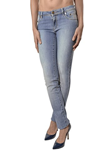 Siviglia A Contrasto Jeans Donna In Cuciture Italy Made P1PgF
